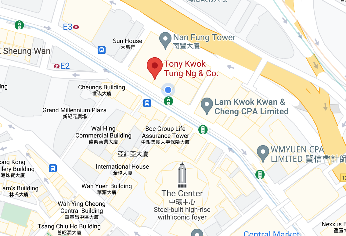 Tony Kwok Tung Ng & Co  Limited
